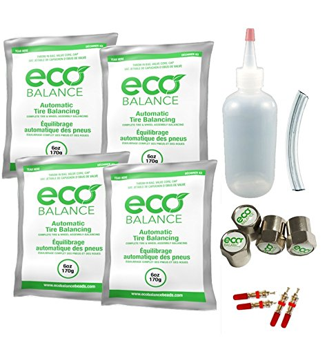 EDIY-6 ECO Tire Balance Beads - 6oz DIY Kit (24oz) by ECO Balance Beads