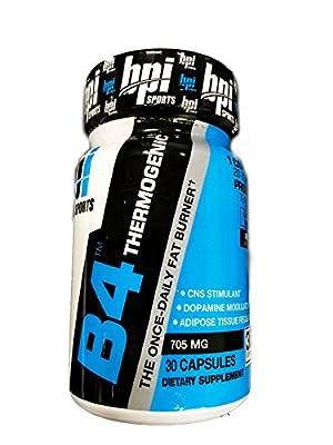 BPI B4 Thermogenic- 30 Capsules