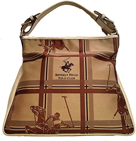 Beverly Hills Polo Club - Bolso al hombro para mujer beige beige ...