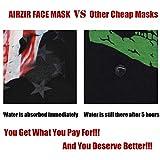 Airzir American Flag Skull Face Mask Breathable