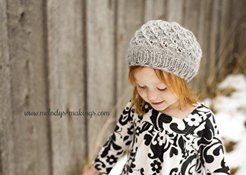 Serenity Slouch Hat Knitting Pattern Sizes Baby Toddler Child