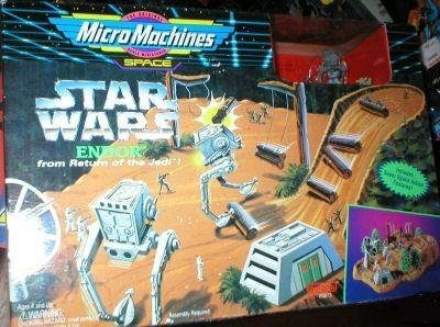 (Star Wars Micro Machines Endor from Return of the Jedi)