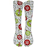 NEW Cat In The Hat Christmas Holiday Athletic Tube Stockings Women's Men's Classics Knee High Socks Sport Long Sock One Size