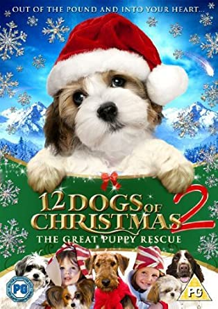 12 Dogs Of Christmas.12 Dogs Of Christmas 2 The Great Puppy Rescue Dvd Amazon