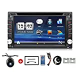 Navigation Seller - 2 Din Radio Car Dvd Player Gps Navigation Tape Recorder Autoradio Cassette Player For Car Radio Steering-wheel Car Multimedia With Free Backup Camera