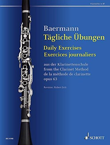 Daily Exercises Op. 63 From The Clarinet Method