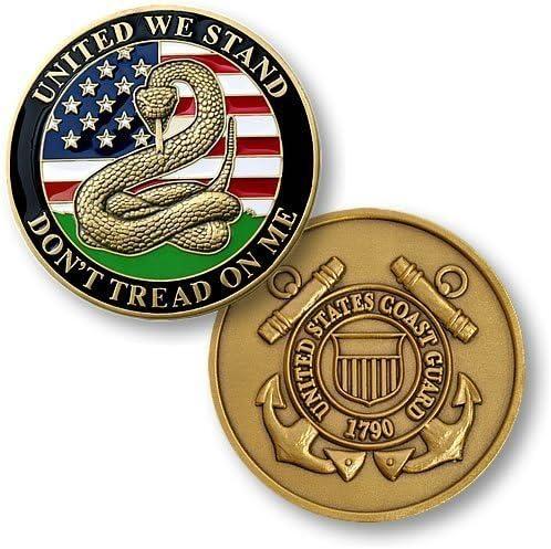 Coast Guard Tribute Coin Card