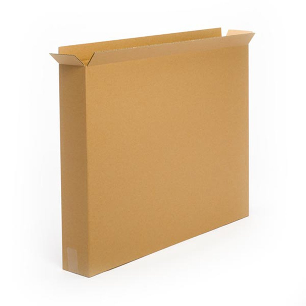Pratt PRA0147 Recycled Corrugated Cardboard Single Wall Standard Side Load Box with C Flute, 36'' Length x 5'' Width x 30'' Height, (Pack of 20)