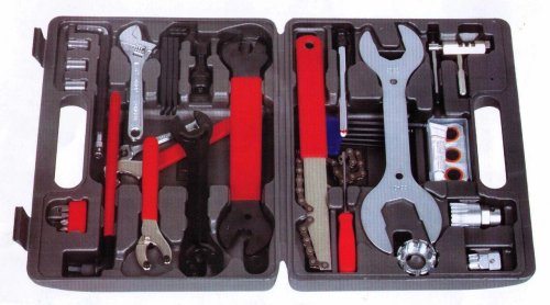 FANTASYCART Universal Home Mechanic's Bike Bicycle Tool Kit Set With Case 44pcs!