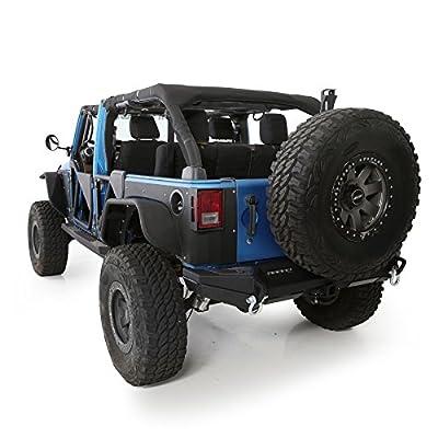 Smittybilt 5666201 MOLLE Sport Bar Cover Kit for 2007-2020 Jeep Wrangler JK 4-Door: Automotive