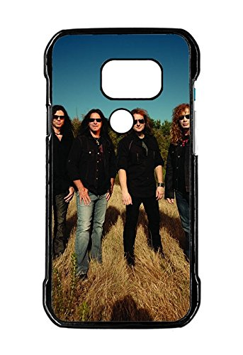 megadeth band daylight glasses green TPU Material Phone Case For Samsung Galaxy S7 Active-Version Cover Design By [Andrea Novak]