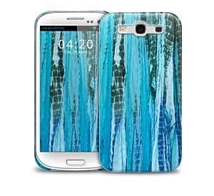 Tie Dye Blue Samsung Galaxy S3 GS3 protective phone case