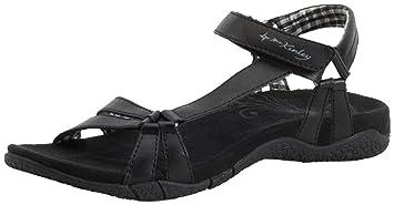 McKinley Trekking Sandale Mango W Damen Outdoor-Sandalen schwarz, Größe:37