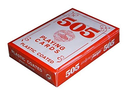 Fournier 505 Red Short Deck Playing Cards - Naipes Fournier 505 Mazo Rojo Cortas