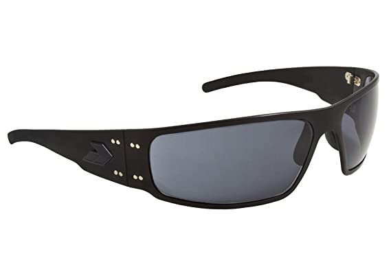 1dc06542631 Gatorz Men s Magnum Black Tactical Frame Gray Polarized Lens Sunglasses  MAGBLK01PMBP Lone Survivor