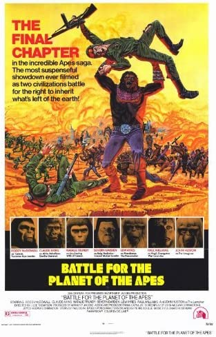 Amazon.com: Battle for the Planet of the Apes POSTER Movie (27 x ...