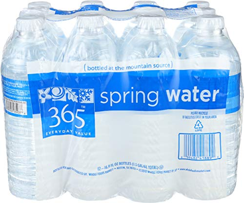 365 Everyday Value, Spring Water, 12 ct