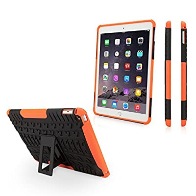 iPad Air 2 Case, BoxWave [Resolute OA3 Case] Rugged Armor Case with Triple Layer Protection for Apple iPad Air 2 - Bold Orange from BoxWave Corporation