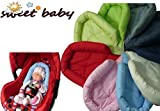 Sweet Baby ** RED ** SOFTY Reducer for Baby Car Seat 0/0+ Universal Reducer Cushion / Newborn like Maxi Cosi, Römer and other