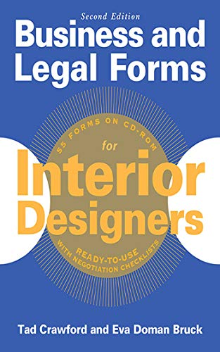Business and Legal Forms for Interior Designers, Second Edition (Business and Legal Forms Series) (Form-designer)