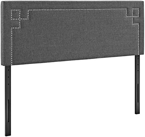 Modway Josie Linen Fabric Upholstered King Headboard