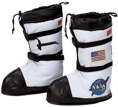 (Jr. Astronaut Space Boots Child Costume Accessory - Medium )