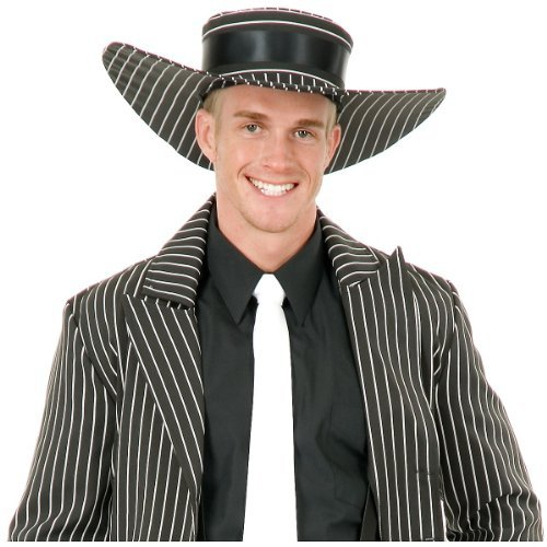 Zoot Suit Hat Costume Accessory -