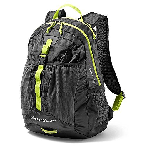 Eddie Bauer Unisex-Adult Stowaway 30L Packable Pack, Black - Black Stowaway