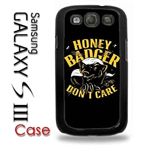 Samsung Galaxy S3 Plastic Case - Honey Badger Dont Give a Shit 2