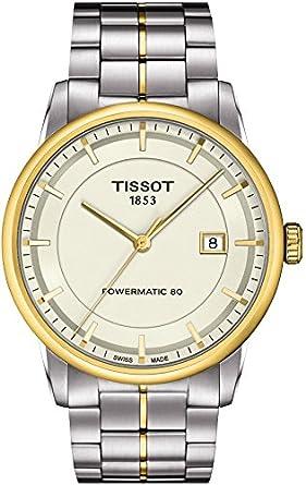 c7f986453f4 Amazon.com: Tissot Men's T0864072226100 Luxury Analog Display Swiss ...