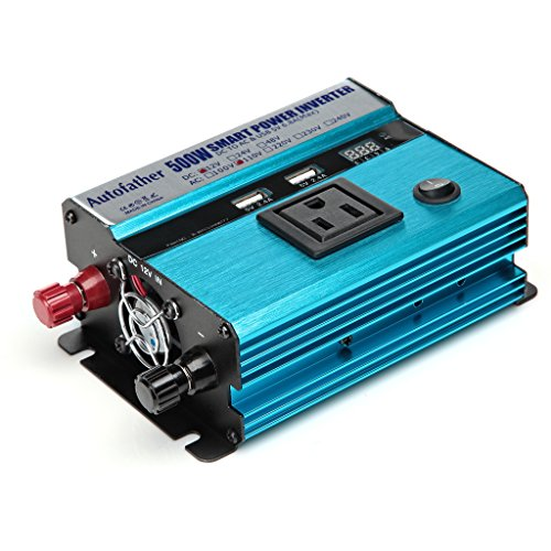 Power Inverter DC 12V to AC 110V 500W