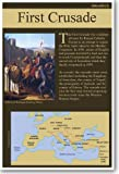 The First Crusade - NEW Social Studies Classroom Poster