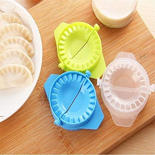 ViewHuge 5PCS Dumpling Mold Empanada Meat Dough Press Molds Maker DIY Kitchen Baking Tool