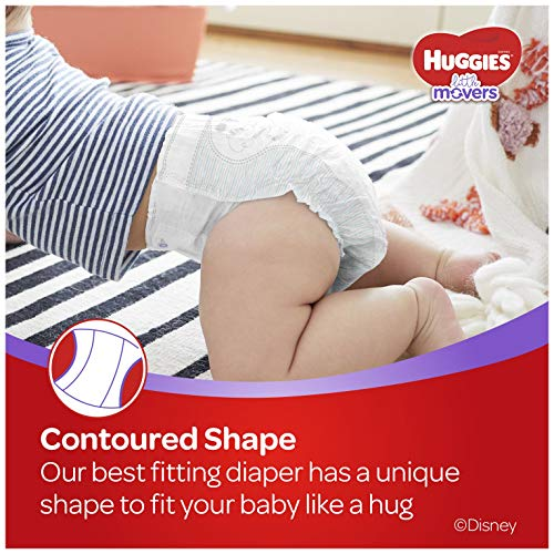 Huggies Little Movers Baby Diapers, Size 6, 16 Ct