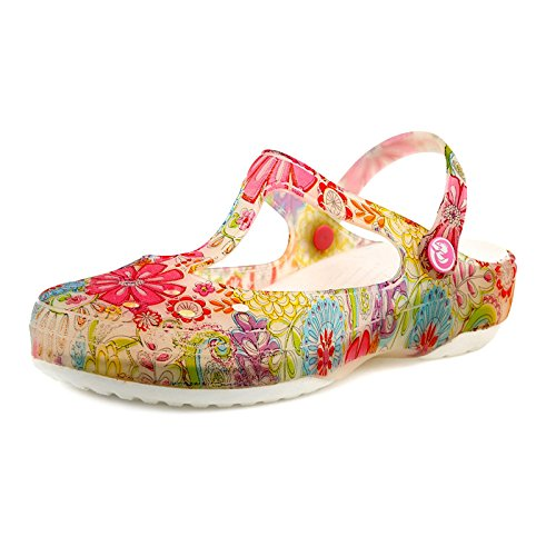 Chaussures 35 Chaussures Chaussures Trou White Yellow XING D'eau Mary Jelly GUANG Impression Jane 37 Chaussures Plage Femmes Sandales Gouttelettes Chaussures Été nnqR6awzf
