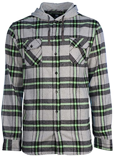 Lime Flannel - 3