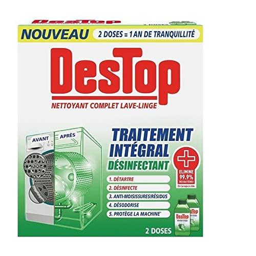 Destop - completo limpiador lavadora tratamiento completo - 500ml ...