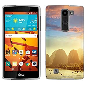 LG Magna Case, Snap On Cover by Trek Yangshuo at Sunset Case