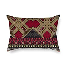 Pillow Covers 20 X 26 Inches / 50 By 65 Cm(2 Sides) Nice Choice For Monther Outdoor Relatives Indoor Wedding Sofa Bohemian