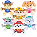 PAW Patrol 6' Plush Toy SET of 6 Characters Marshall Skye Everest Rocky Rubble Chase