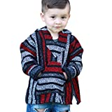 Youth Kids Mexican Baja Hoodie Pullover Sweater