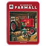 All States Ag Parts 1000 Piece Puzzle With collectible Tin - Forever Red McCormick Farmall