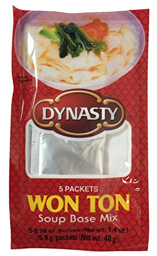 Tone Mix - Won Ton Soup Base Mix 5 Individual Packets per Pack (6 Pack)