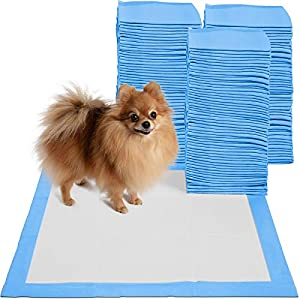 Puppy Pads Dog Pee Pad for Potty Training Dogs & Cats 22 x 22″- 150-Count Large