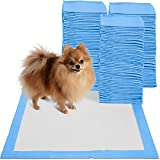 22 x 22 inch Pet Training Potty Pee Pads for Dogs and Cats 30, 100, and 150 Count (150 Count)