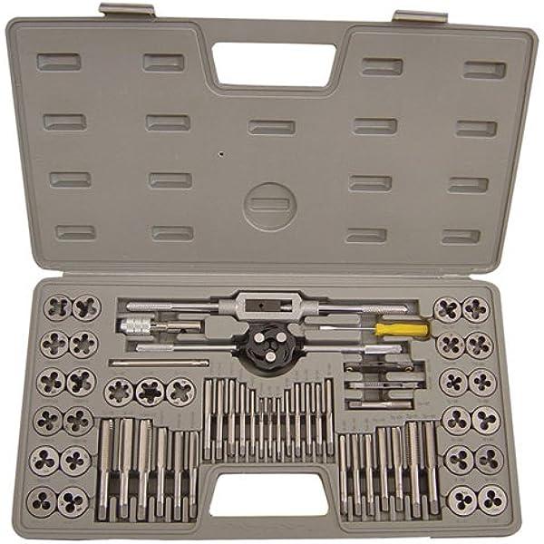 4x3.5 mm x 0.6 Pitch TAP /& DIE SET TUNGSTEN STEEL PLASTIC BOX PACK