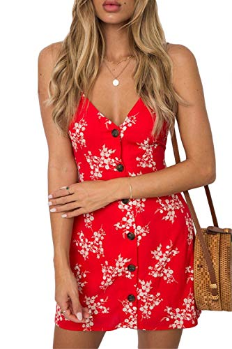 Espalda Vestidos Encaje Floral Espagueti Mujer 4 Descubierta Playa Vestido Mini De Sopliagon Para Con nqRaIHx