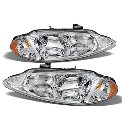 ACANII - For 1998-2004 Dodge Intrepid Factory Style Headlights Lamps Driver + Passenger Side Replacement