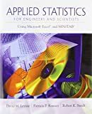 Applied Statistics for Engineers and Scientists 1st Edition