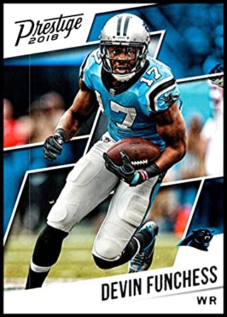 2018 Prestige NFL  73 Devin Funchess Carolina Panthers Panini Football Card 4866cf5a2